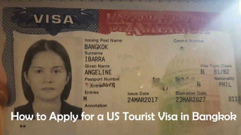 Us Tourist Visa Number